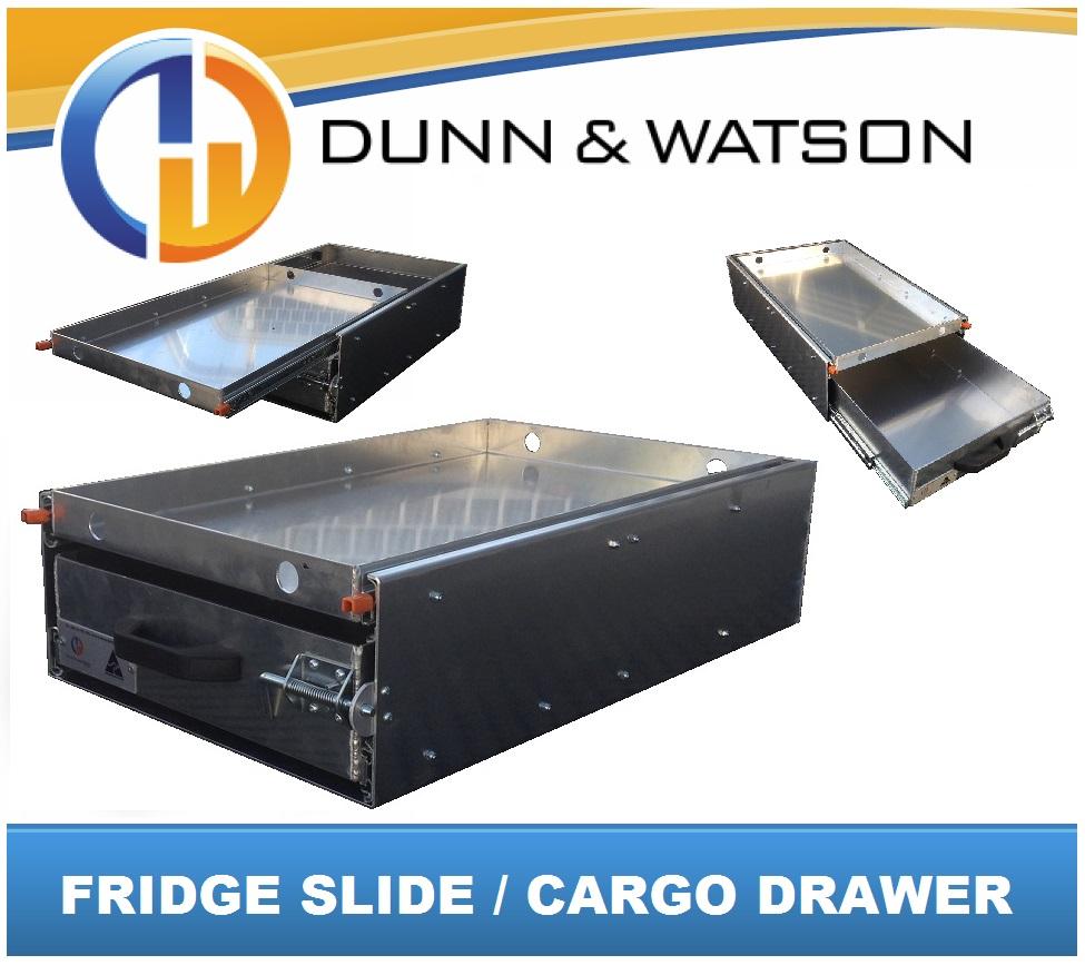 Fridge Slide / Cargo Drawer - (Waeco, Evacool, Engel, ARB ...