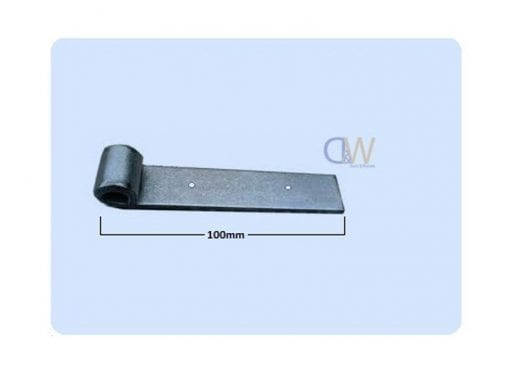 Butt HingeStrap Hinge Zinc Plated 100mm4