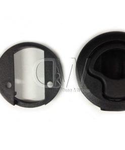 General locks Black Plastic Finger Pull2