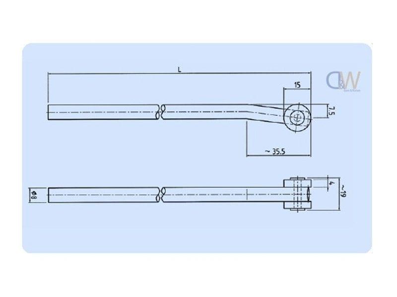 Locking Accessories Roller Rod2