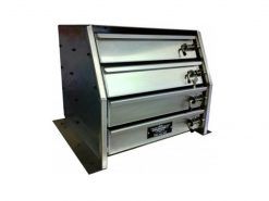 aluminium toolboxes Drawer Unit For Gull Wing Toolboxes1