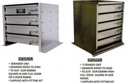 aluminium toolboxes Drawer Unit For Square High Side Toolboxes2