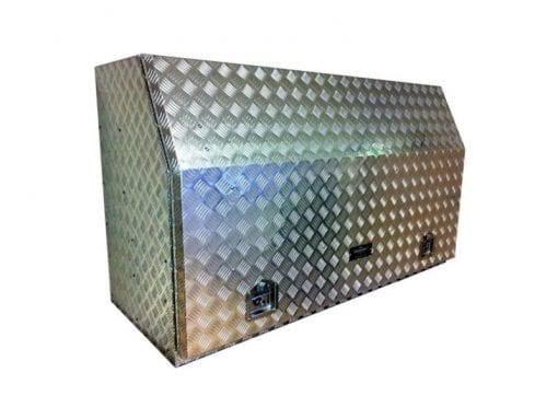 aluminium toolboxes Gull Wing Toolbox Full Door2