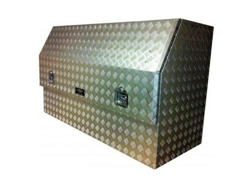 aluminium toolboxes Gull Wing Toolbox door2