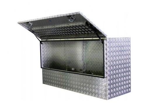 aluminium toolboxesSquare Hi Side Storage Box 34 Door
