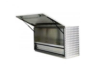 aluminium toolboxesSquare Hi Side Storage Box Full Door1