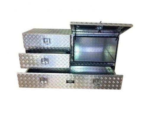 aluminium toolboxesSquare Hi Side Storage Box Multi Drawer2