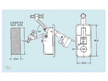 compression locks Black Thumb Press Compression Locks Small