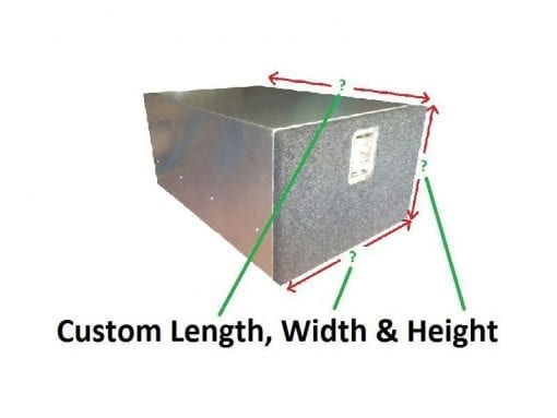 Custom fabricationAluminium Cargo Drawer System2