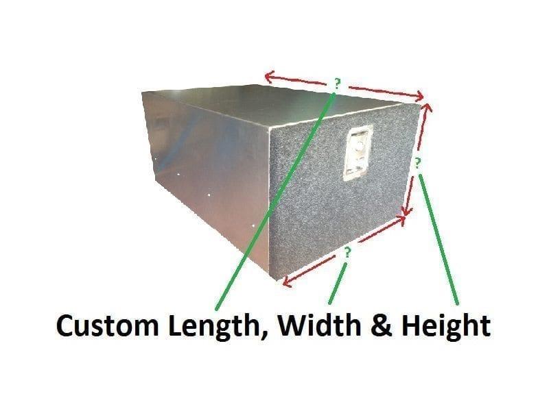 Custom fabricationAluminium Cargo Drawer System2