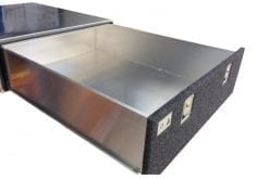 Custom fabricationAluminium Cargo Drawer System3