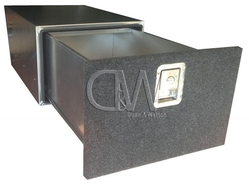 Custom fabricationAluminium Cargo Drawer System4