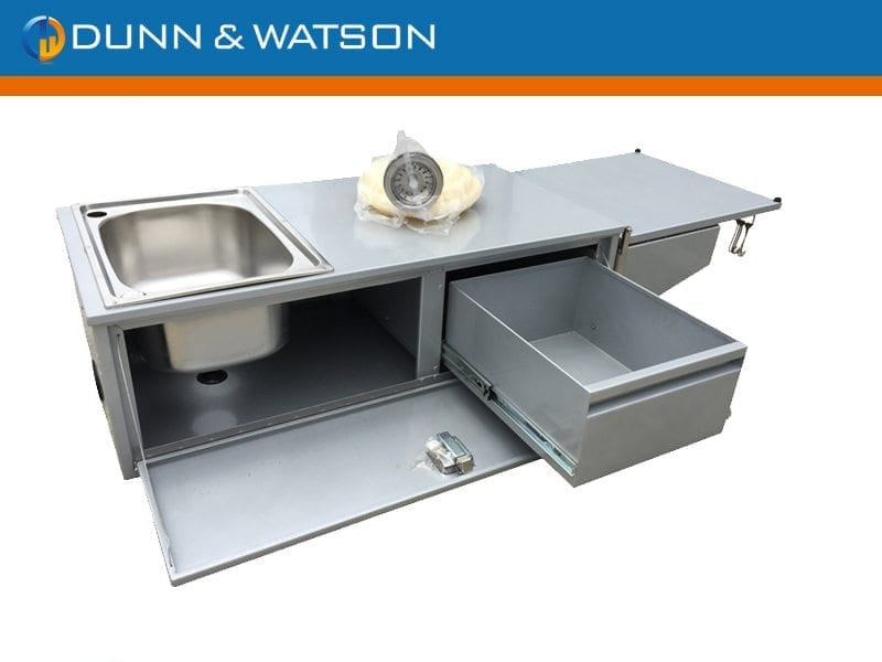 Standard slide out kitchen industrial hardware camper for Slide out motor manufacturers