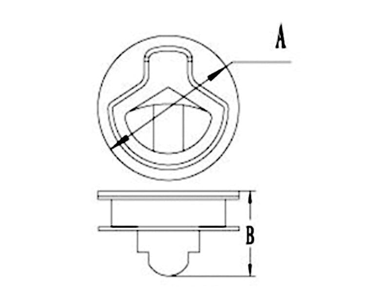 Stainless Steel Finger Pull Latch4