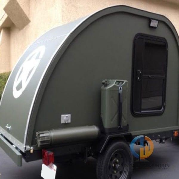 Tear Drop Camper Trailer Door Industrial Hardware