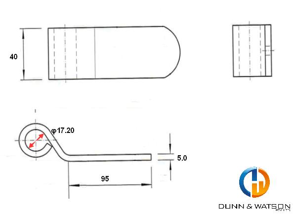 95mm-strap-hinge