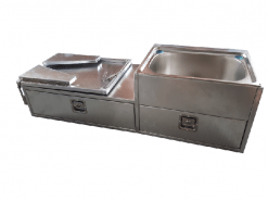 Aluminiumium kitchnen left hand