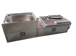 Aluminiumium kitchnen right hand