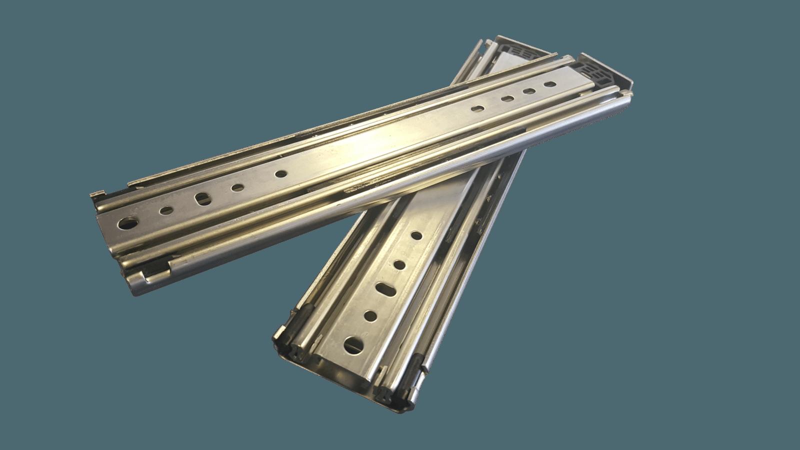 Heavy Duty Drawer Slide 227kg Non Locking