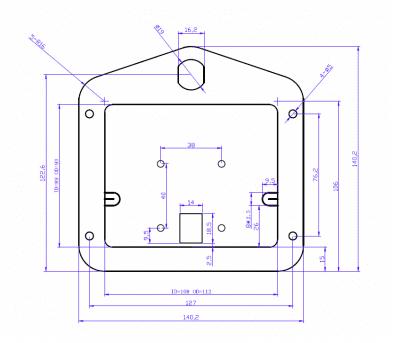 cargo drawer Lock CAD