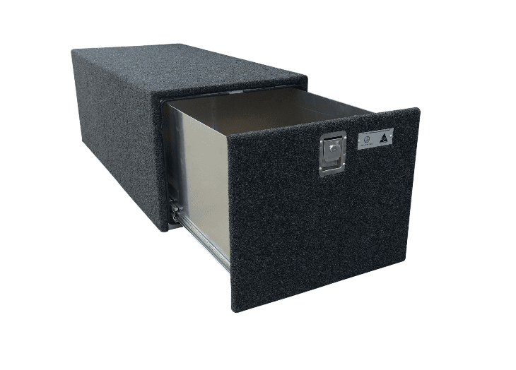 DUNN AND WATSON COMPLETE CARPETED CARGO DRAWER