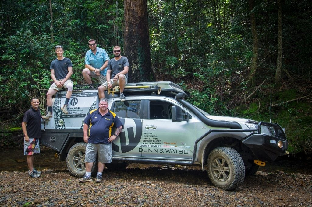 Group Shot Brisbane Hinterland 4wd Training
