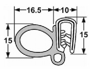 Pinchweld seal large side bubble