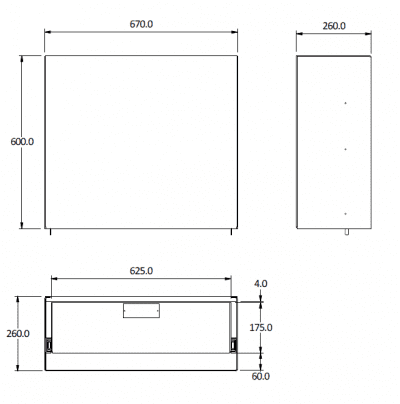 Small Dunn Watson Canopy Cargo Drawer CAD