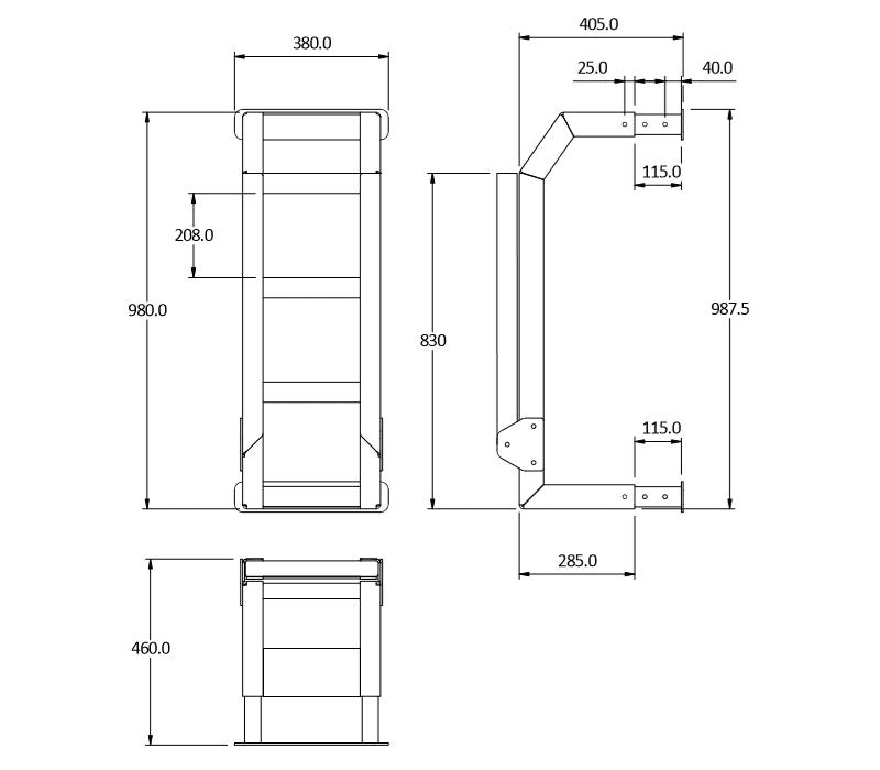 ladder and platform 4