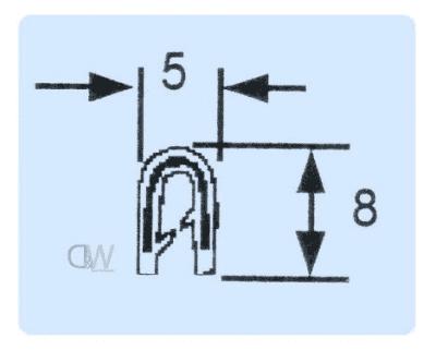 small edge pinchweld dimensions