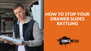 How to stop your drawer slides from rattling