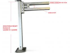 CAD OF LIFT OFF LEGS