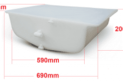 tourer tray tank dimensions