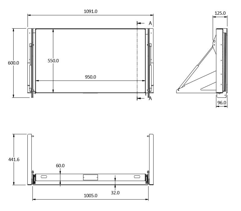 sideways 95 tilt size