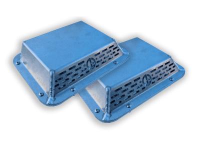 aluminium pressure vent pair