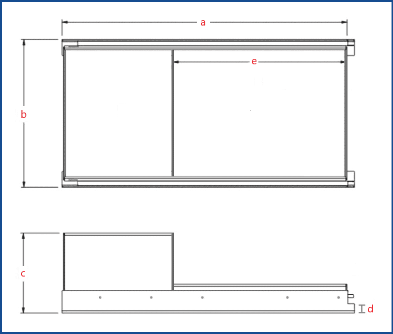 Custom Tunnel boot drawer BBQ tray 1